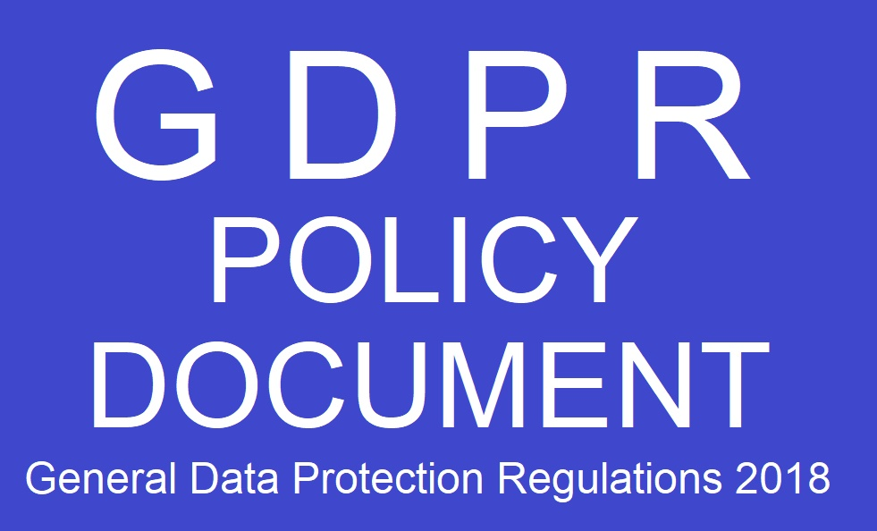 CLICK ONTO THIS LINK TO VIEW OUR 2018 GDPR POLICY DOCUMENT