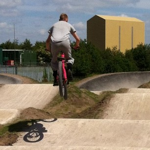 CLICK ONTO THIS LINK TO SEE PHOTOS OF THE START OF WORK ON THE BMX TRACK